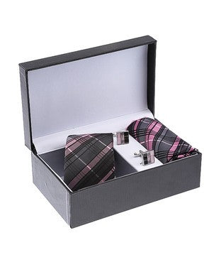 Tossido Tie, Cufflinks & Pocket Square