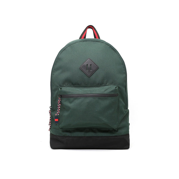 London Rag Womens Dark Green Backpack-BG5235_GREEN