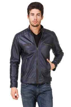 Smerize Men's Wolverine Faux Leather Jacket $ 12SM