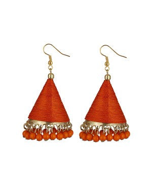 aradhya GCN918 Beads Alloy, Metal Jhumki Earring