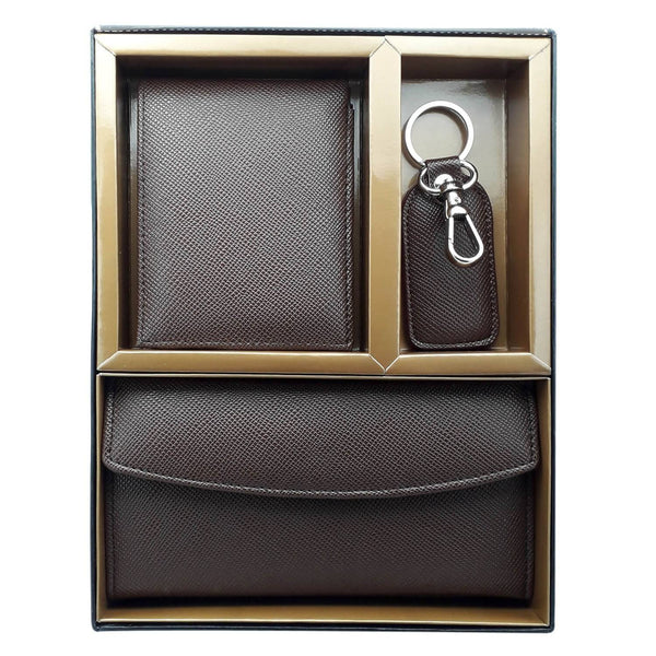 Baluchi's Classy Couple Wallets and Keyring Combo 3 in 1, Handmade in Top Quality Leatherette by Baluchi $ BLC_COM_3IN1_02