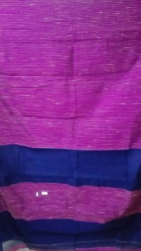 Festive Buzz Pink & Blue Cotton Handloom Sarees $ 1422