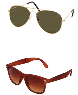 Benour pack of 2 Unisex Sunglasses $ BENCOM202