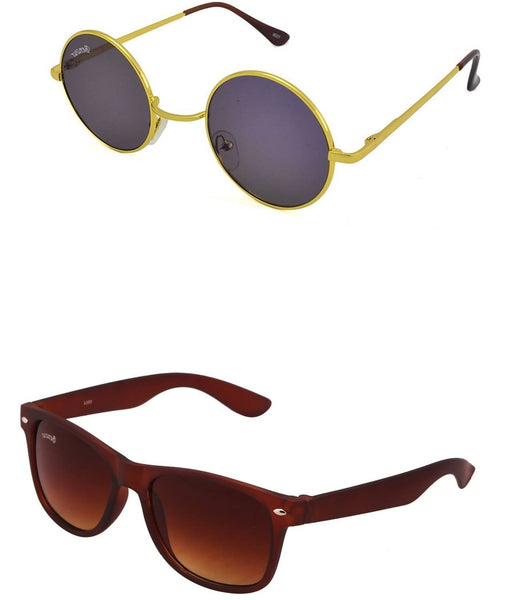 Benour pack of 2 Unisex Sunglasses $ BENCOM238