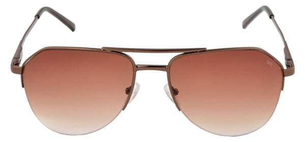 Lawman UV Protected Brown Unisex Sunglasses-LawmanPg3 Sunglasses LM4505 C2