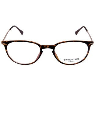 David Blake Tortoise Brown Round Full Rim EyeFrame