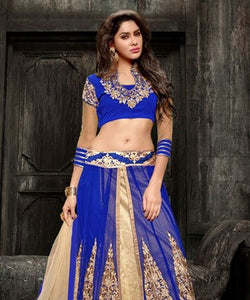 Faux Georgette Lehenga Set
