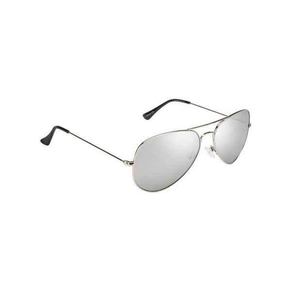 Benour Men's Silver Aviator Sunglasses $ BENAV045
