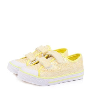 Peachkids Yellow Casual Shoe