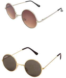 Benour pack of 2 Unisex Sunglasses $ BENCOM208