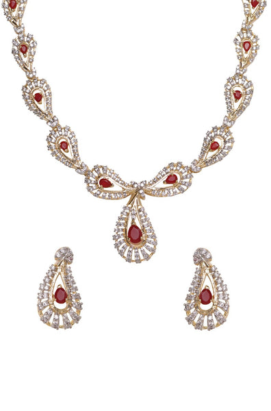 BAUBLE BURST Necklace with Earrings-100000876603