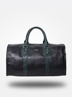 Strutt Unisex Black and Green Leatherette Cabin Baggage $ SMD533