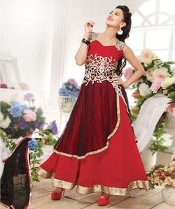 Georgette Suit with Dupatta