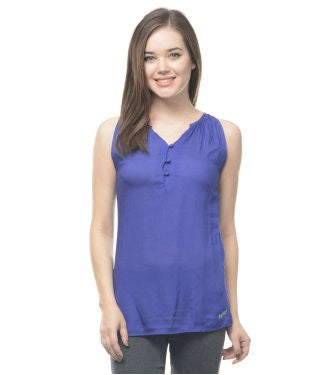 Spykar Blue S/L Top