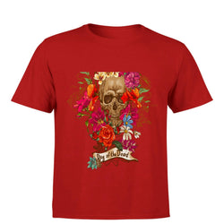 Partum Corde Premium Men's Modern Fit Round Neck T shirt DAY OF THE DEAD $ DAY OF THE DEAD3332