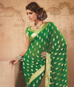 SAREE WITH UNSTITCHED BLOUSE AW_100000341746
