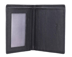 Annodyne Men's BLACK Rook Genuine Leather Wallet_A512WM $ R_A512WM_BLK