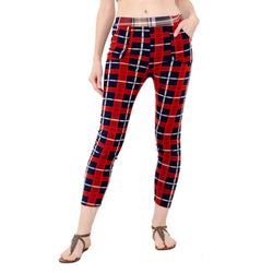 Baluchi's Check Plaid Print Jeggings $ BLC_JEG_09
