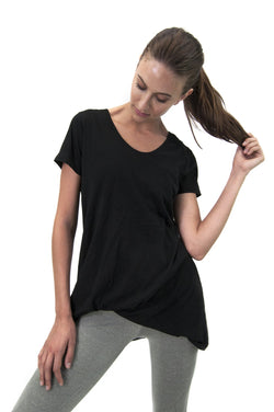 SATVA - Yoga/Sports T-Shirt (Made from 100% Organic cotton) $ WH17194