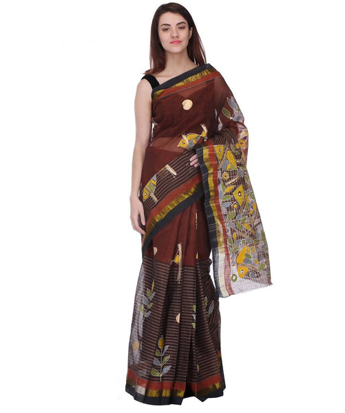 Saree With Unstitched Blouse AW_100000016168