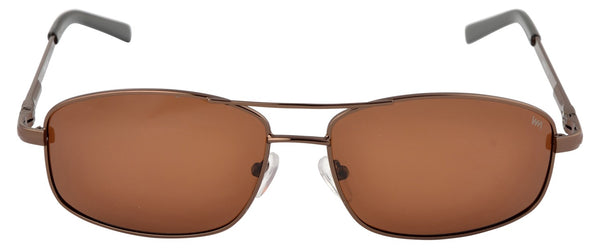 Lawman UV Protected Brown Unisex Sunglasses-LawmanPg3 Sunglasses LM4512 C2