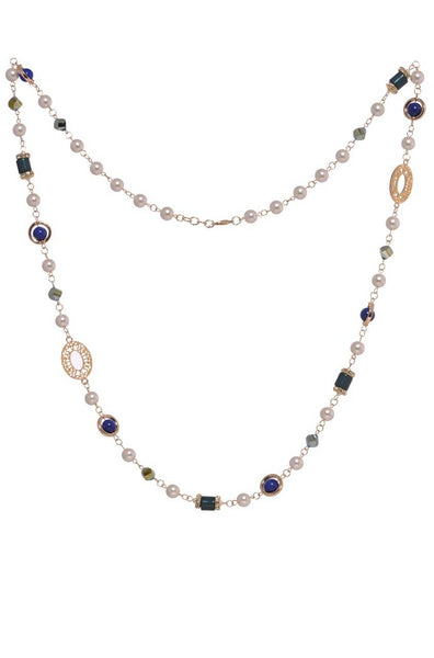 Beads-n-Bling Strand Necklace - JIJSNEC5911