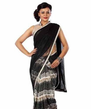 Goergette Saree with Blouse