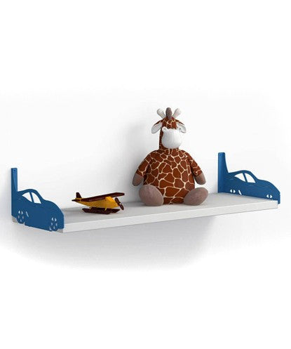 THE NEW LOOK Blue Side Cars Wall Shelf-100000813544