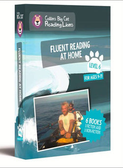 Level 6: Fluent Reading at Home (Collins Big Cat Reading Lions)
