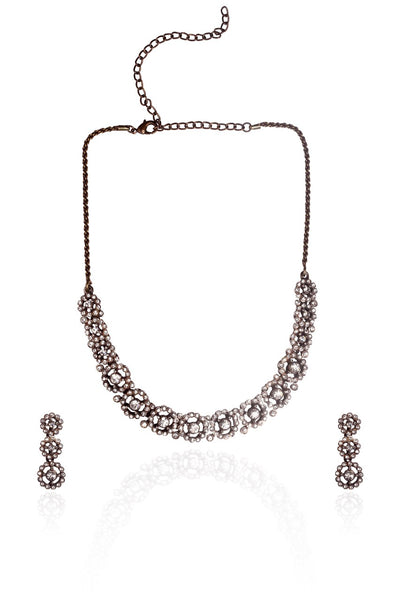 BAUBLE BURST Necklace with Earrings-100000617342
