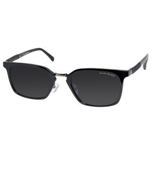 David Blake Black Wayfarer Polarized, UV Protected Sunglass