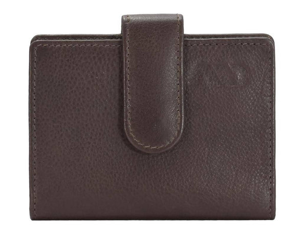 Annodyne Men's BROWN AQUILA Genuine Leather Wallet_A542WM $ R_A542WM_DRK_BRN