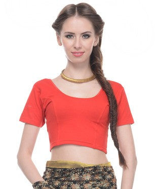 Cotton Spandex Blouse
