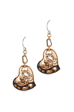 Heart Attack Earrings - JIAEEAR4064