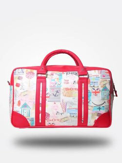 Strutt Women Around the world in a Red Cabin Baggage/ Duffle Bag $ SMD543