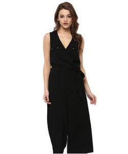 Miway Rayon moss Black Romper