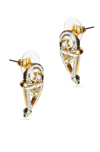 Spiky Shimmer Earrings - JSENEAR1493