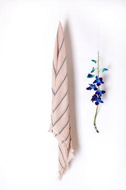 100% Cotton Striped Stoles-SH0038