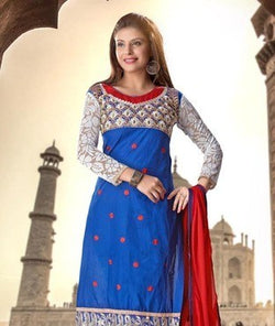 Cambric Cotton Suit with Dupatta