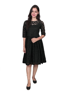 Libas Closet The Knee Length Lace Dress $ Libas-042