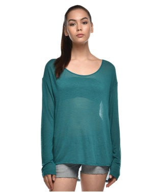 Guess Rama Green F/S Top