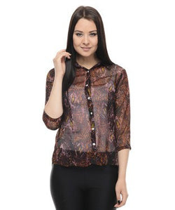 Stylestry Quarter Sleeves Shirt