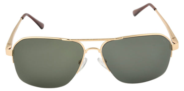 Lawman UV Protected Green Unisex Sunglasses-LawmanPg3 Sunglasses LM4509 C3 (Green)
