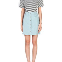London Rag Women's Blue Aline Skirt-CL7092