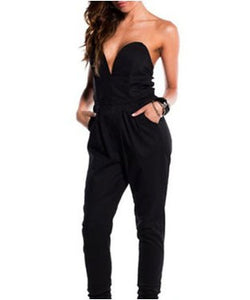 Enigma Jumpsuit with G-String