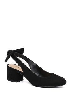 London Rag Black Slingback Round Toe Sandals $ SH1553