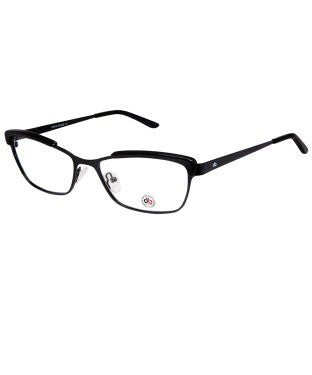 David Blake Matte Black Cateye Full Rim EyeFrame