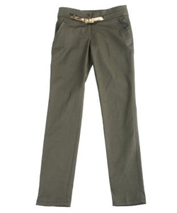 Glam A Gal Olive Trouser