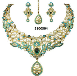 Tanishka Fashion Designer Kundan Necklace Set