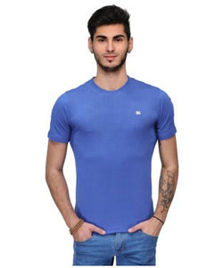 Dazzgear Men's Blue V Neck MTV-50 T-Shirt